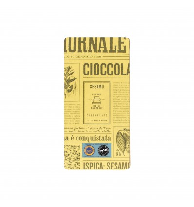 Cioccolato con Sesamo di Ispica